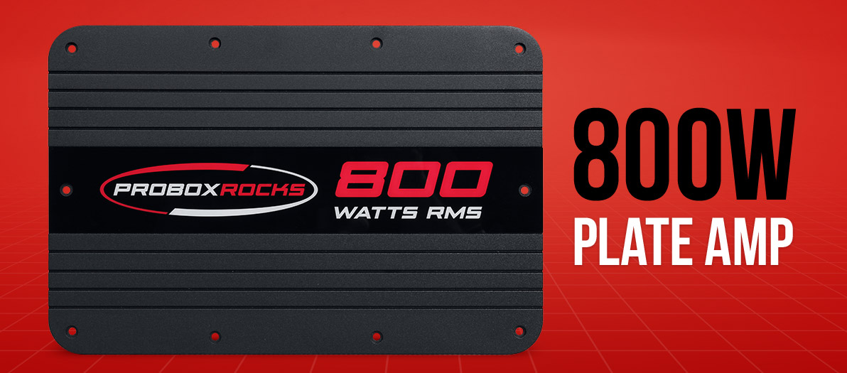 Now Available: ProBox 800 W Plate Amp