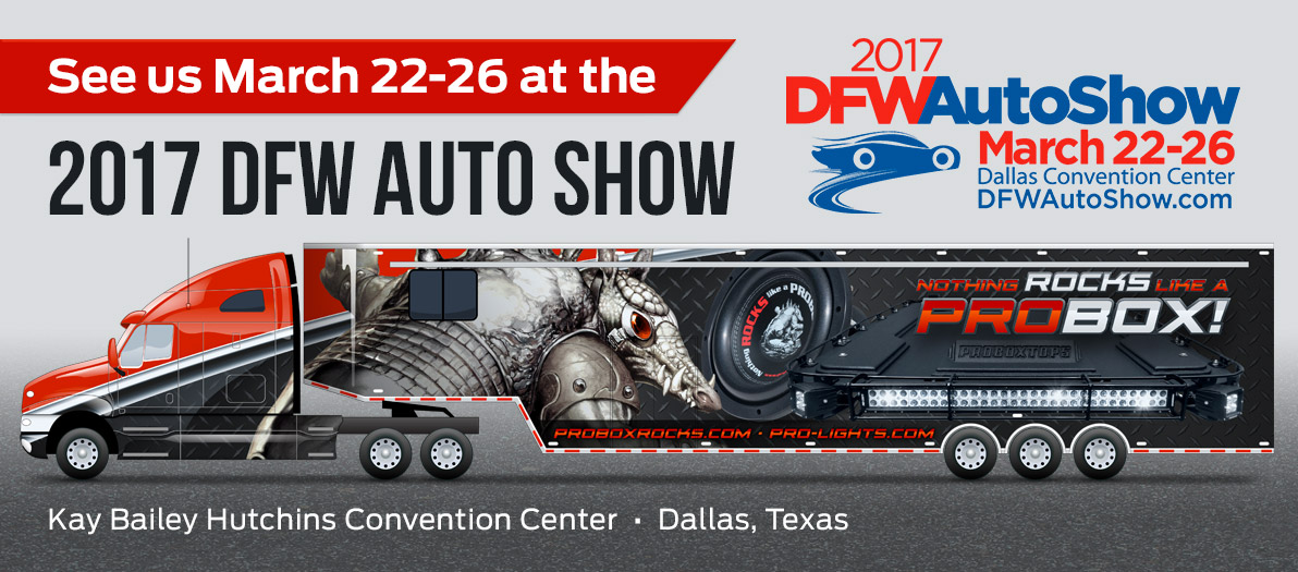 See us at the DFW Auto Show!