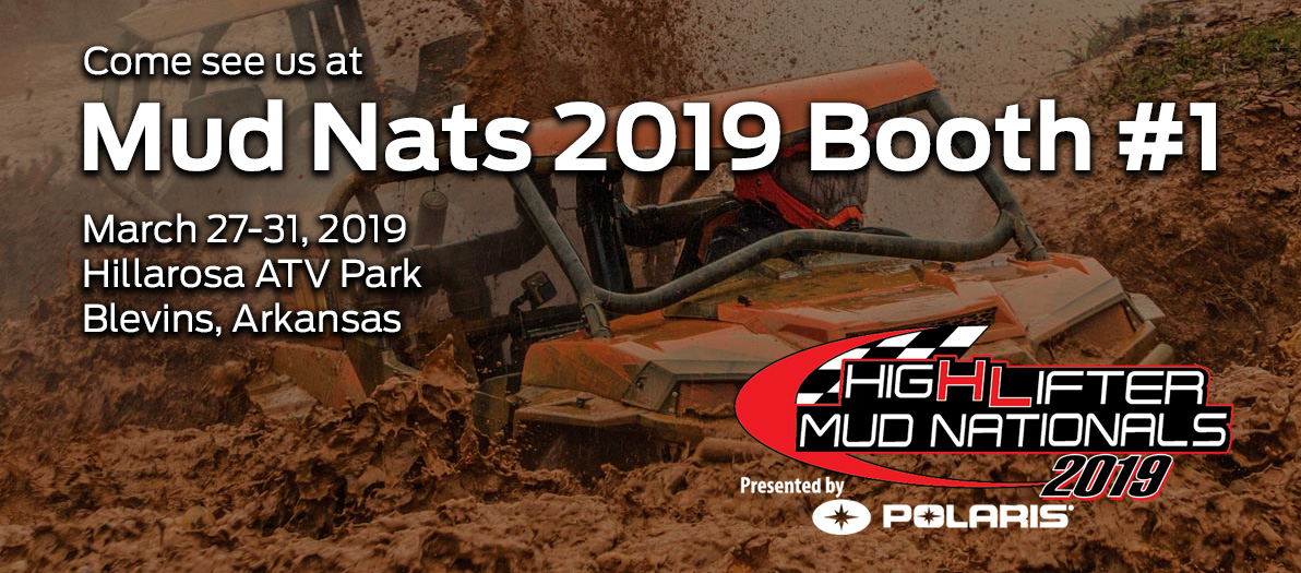 Come see us at the HighLifter Mud Nationals!
