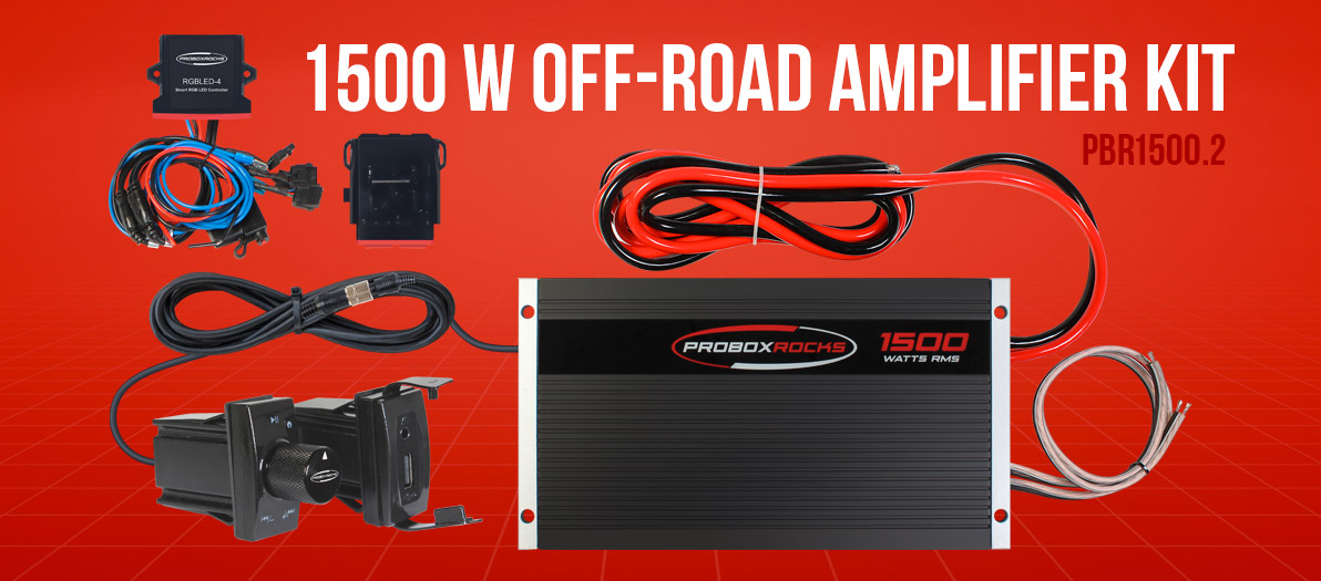Off-Road Amplifier Kit